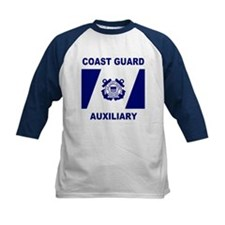 USCG Auxiliary Flag<BR> Kids Blue Jersey 2