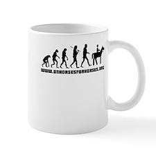 Evolution To Horses Mug