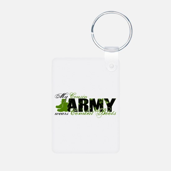 Cousin Combat Boots - ARMY Keychains