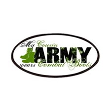 Cousin Combat Boots - ARMY Patches