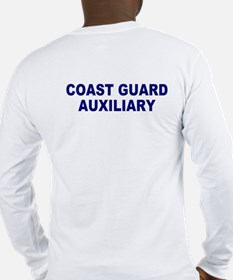 USCG Auxiliary Flag<BR> Long Sleeves 3