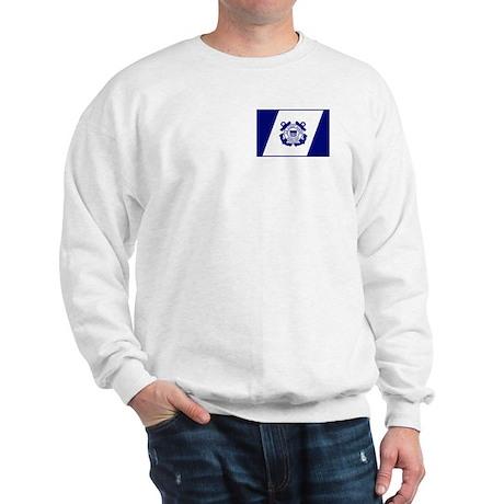 USCG Auxiliary Flag<BR> Sweatshirt 3