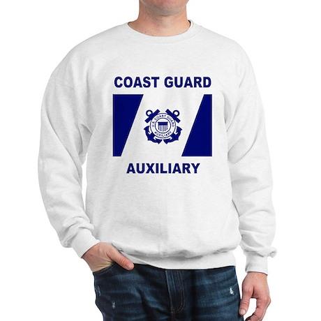 USCG Auxiliary Flag<BR> Sweatshirt 2