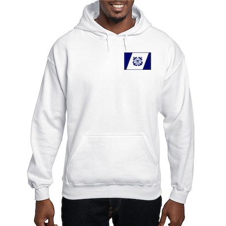 USCG Auxiliary Flag<BR> Hooded Sweatshirt 1