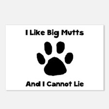 Big Mutts Postcards (Package of 8)