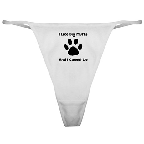 Big Mutts Classic Thong