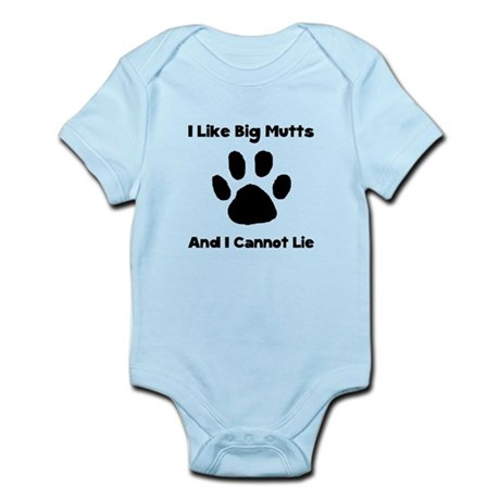 Big Mutts Infant Bodysuit