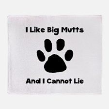 Big Mutts Throw Blanket