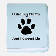 Big Mutts baby blanket