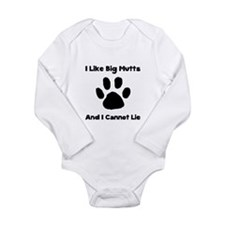 Big Mutts Long Sleeve Infant Bodysuit