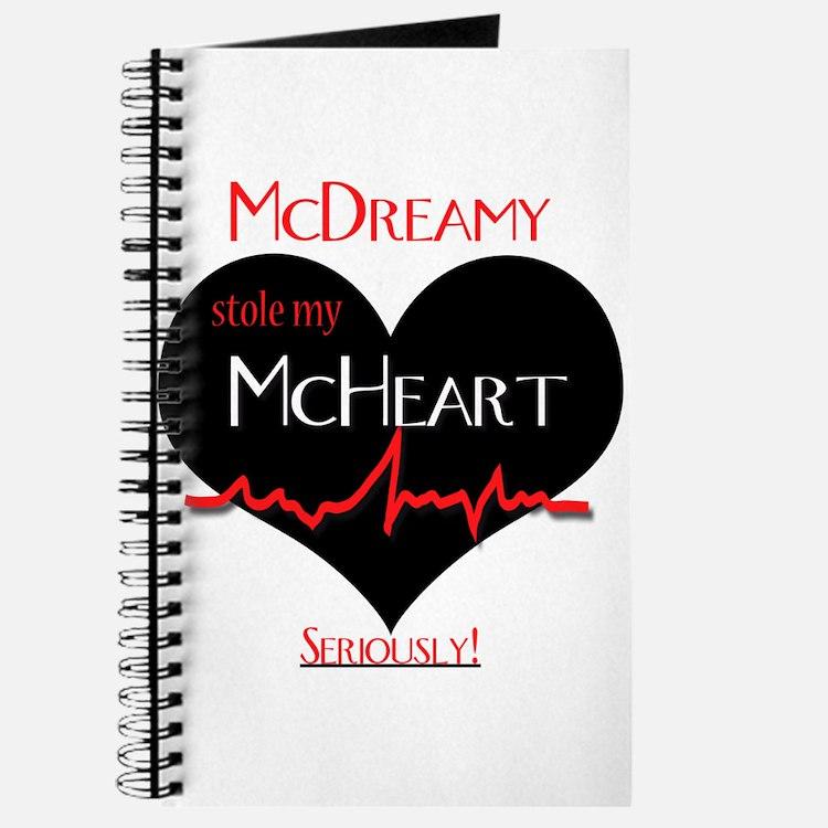 Grey's Anatomy Mc range Journal