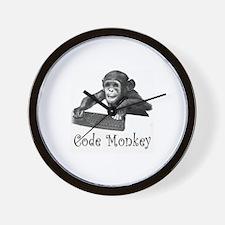 CODE MONKEY - Wall Clock