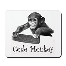 CODE MONKEY - Mousepad