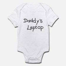 DADDY'S LAPTOP - Infant Bodysuit