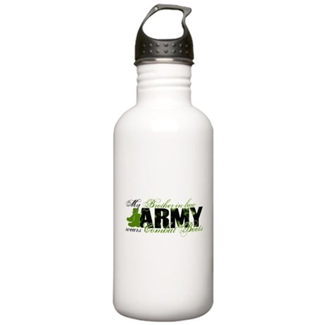 Bro Law Combat Boots - ARMY Stainless Water Bottle
