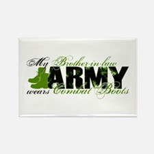 Bro Law Combat Boots - ARMY Rectangle Magnet