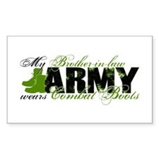 Bro Law Combat Boots - ARMY Decal