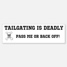 Tailgating Bumper Bumper Sticker
