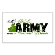 Bro Combat Boots - ARMY Decal