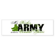 Bro Combat Boots - ARMY Bumper Sticker