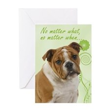 Bulldog Love/Support Card