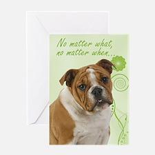 Bulldog Love/Support Card