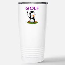 Golf Penguin (3) Stainless Steel Travel Mug