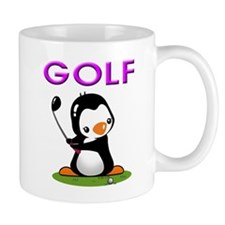 Golf Penguin (3) Mug