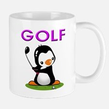 Golf Penguin (3) Mug