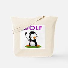 Golf Penguin (3) Tote Bag