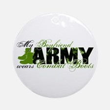 BF Combat Boots - ARMY Ornament (Round)
