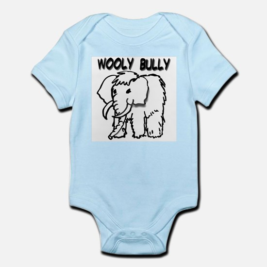 """WOOLY BULLY"" Infant Creeper"