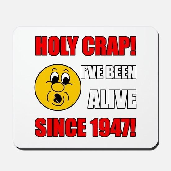 Hilarious 1947 Gag Gift Mousepad