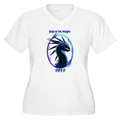 2012-Horned Black Dragon T-Shirt