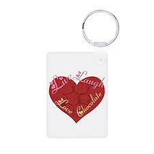 Love Chocolate Keychains