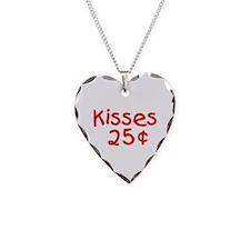Valentine Kisses 25 Cents Necklace