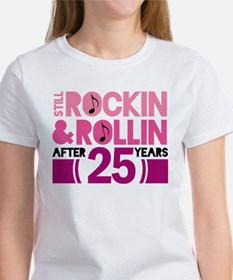 25th Anniversary Funny Gift Tee