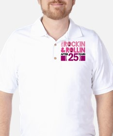 25th Anniversary Funny Gift T-Shirt