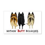 Nothin' Butt Belgians 22x14 Wall Peel