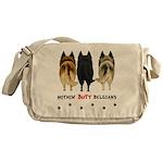 Nothin' Butt Belgians Messenger Bag