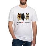 Nothin' Butt Belgians Fitted T-Shirt