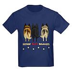 Nothin' Butt Belgians Kids Dark T-Shirt