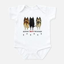 Nothin' Butt Belgians Infant Bodysuit