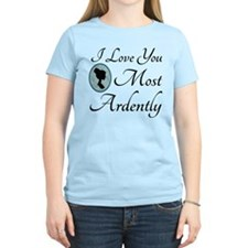 Austen Quote Love You Ardently T-Shirt