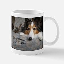 Sometimes Love Herds Small Mugs
