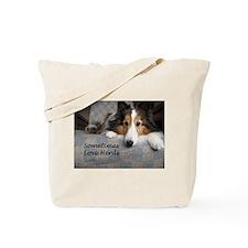 Sometimes Love Herds Tote Bag