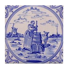 Dairy Tile: Tile Coaster