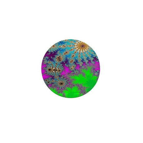 Fractal Art Mini Button (100 pack)