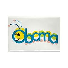 Obama Caterpillar Rectangle Magnet