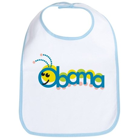Obama Caterpillar Bib